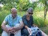 Picknick i pegasus trädgård