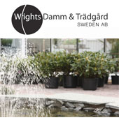 Wrights Damm & Trädgård