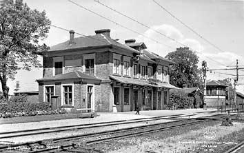 tredje stationen i Stehag