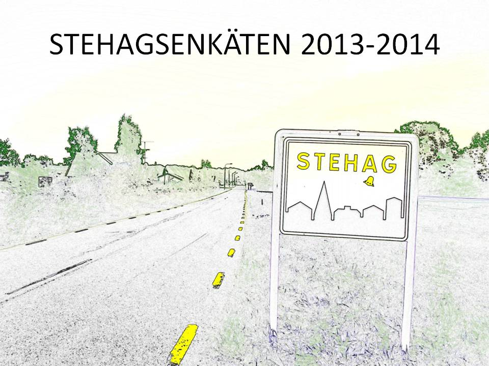 Stehagsenkäten 2013-14